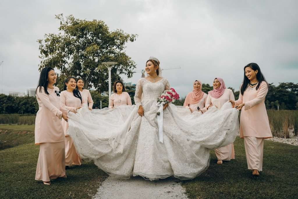 Ala carte Singapore wedding package for photography in Singapores