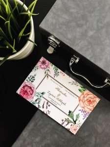 Wedding invitation card Singapore