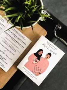 best Wedding invitation card Singapore Malaysia