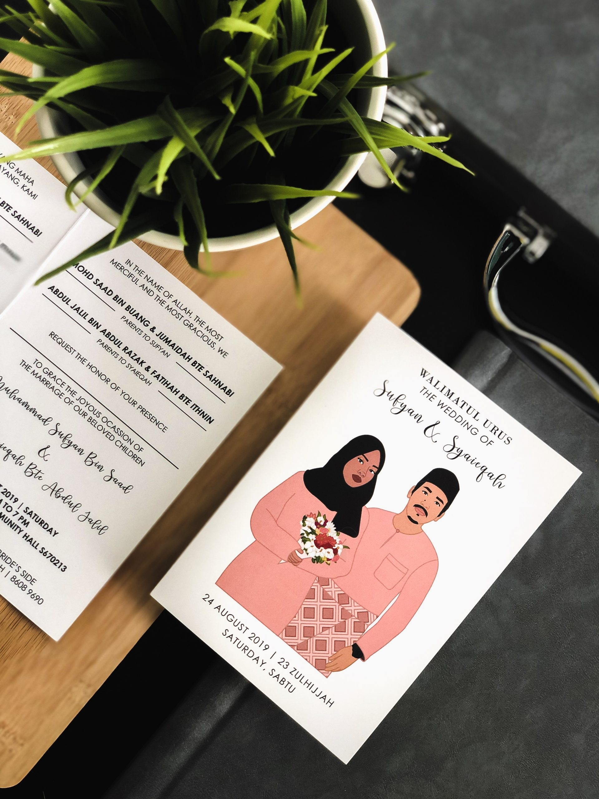 best Wedding invitation card Singapore Malaysia